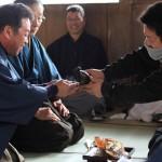レポート:木津住吉神社「弓引きの儀」