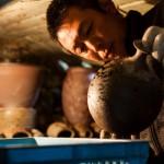 ストイックな陶芸家
