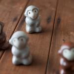 手作りの釉薬で彩られる器たち